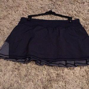 lululemon athletica Shorts - Lulu navy blue tennis skirt